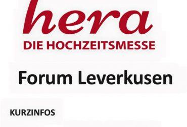 Messevorbereitungen Hera Hochzeitsmesse Leverkusen