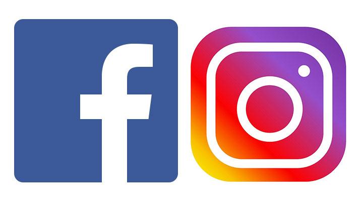 Neu auf Facebook und Instagram…